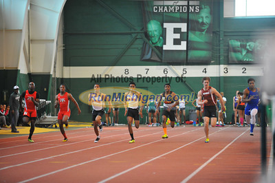 Boys and Girls 60M Finals (d1) - 2014 Huron Relays