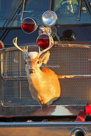 McKinney Truck 1 with Rudolph.