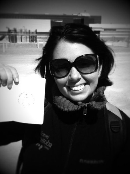 Sweet new passport stamp from polar bear capital of the world #itsmbtime