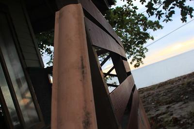 Daytime shoot of deserted beach resort