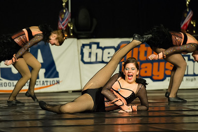 1-26-13 Glenbrook South IHSA FInals Competative Dance