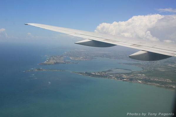 Arrival-Puerto Rico