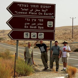 Dead Sea Swim En Gedi Israel