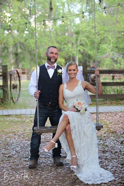 Joe & Ashley's Wedding, Tucker's Farmhouse