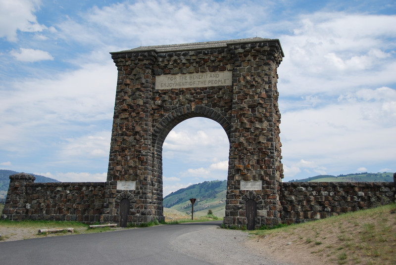 The Roosevelt Gate, Gardiner, MT