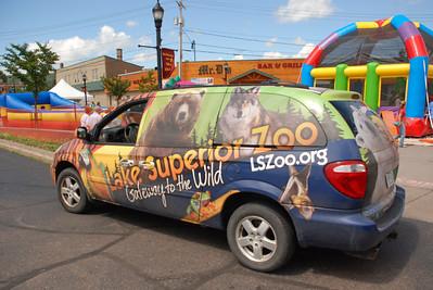 2012 08 04: Kids' Day, Spirit Valley, Lk Superior Zoo