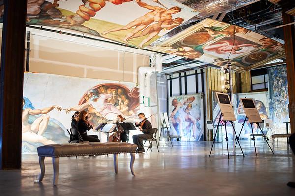Sistine Chapel Exhibit Opening