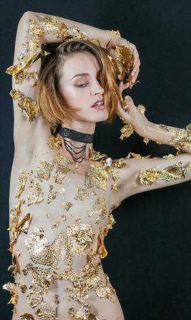 Jennifer Jones the Model - Gold Session