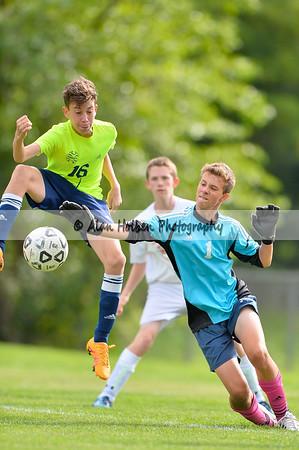 JV Soccer - Haslett at Lansing Catholic
