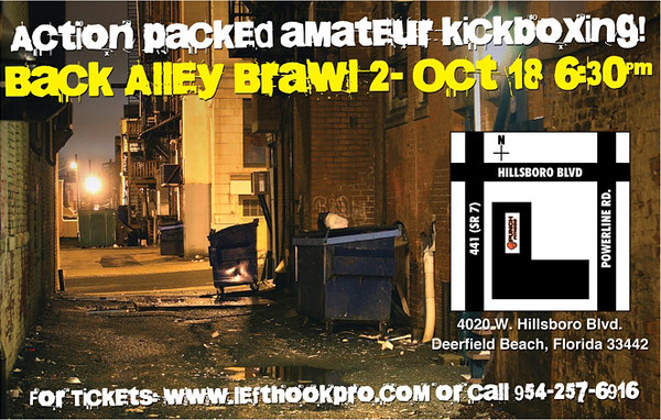 Back Alley Brawl 10-18-08