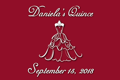Daniela's Quinceañera Party Booth - September 14, 2018