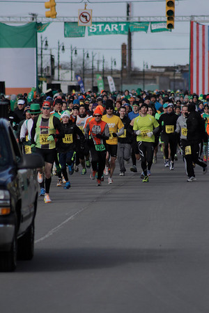 Wave 1 Start - 2014 Corktown Races