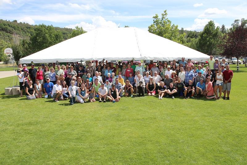 2014 Hogan Family Reunion Durango Colorado August 1-3