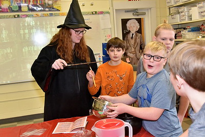 Fisher's Fifth Grade Potions Class With Mrs Edmunds photos by Gary Baker