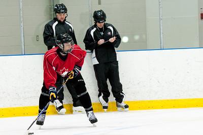 Hockey skills test
