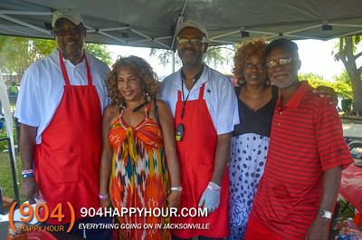 Jerome Brown BBQ Cook Off - 8.30.14