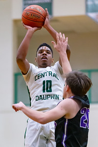 2020-01-10 | Boys HSBB | Central Dauphin vs. Mifflin County