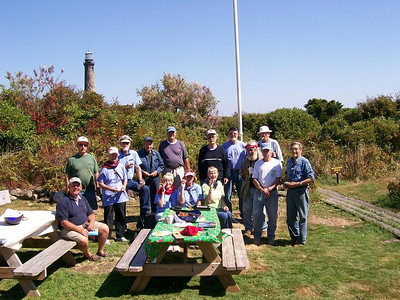 Thacher Island Workcrew 2007