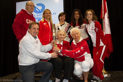 Queen's Baton Relay May 2, 2014 Hamilton, Ontario