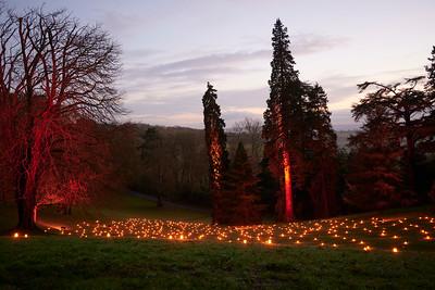 Waddesdon Winter Lights Dec 2020