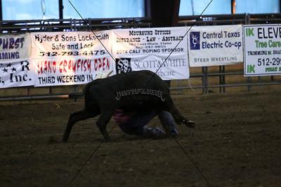 Friday Steer Wrestling