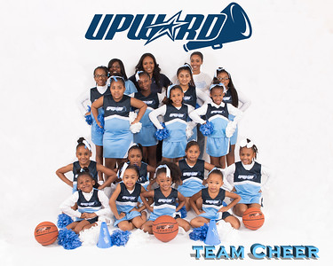 UPWARD CHEERLEADERS WILLIAMS FAMILY