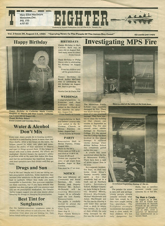 Freighter Newspaper 1985 August 14