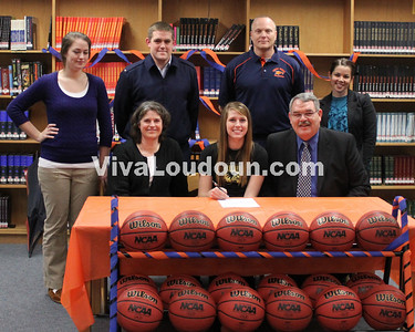 College Signing: Briar Woods Bell: Basketball Utah Valley