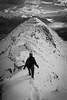 """Last Climb"" XIV, East end of Mount Rundle, Alberta, Canada."