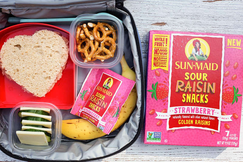perfect school lunch with sandwich