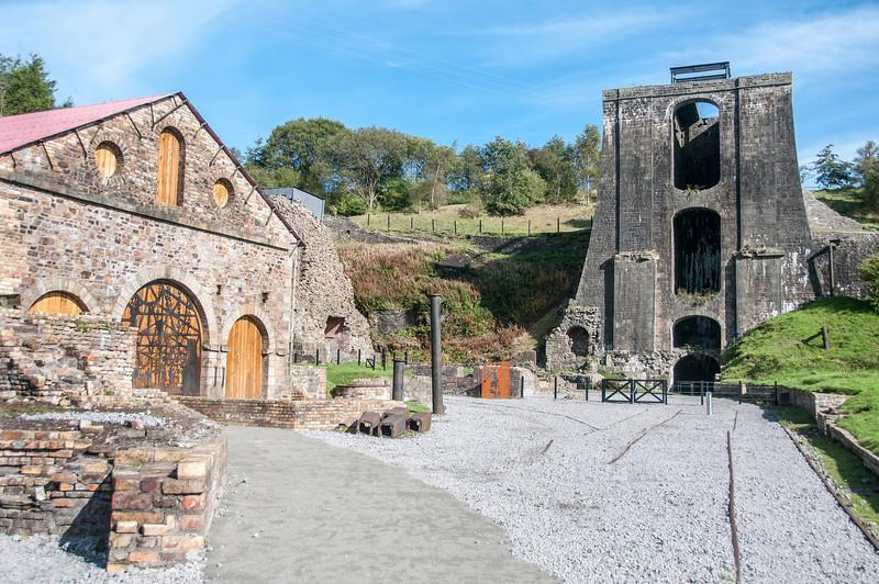 Blaenavon Ironworks in Blaenavon, Wales