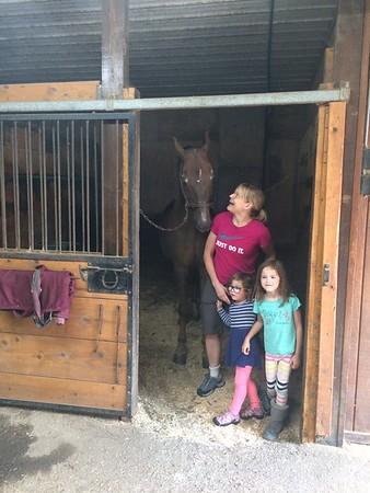 Bob Jensen horsy stables..