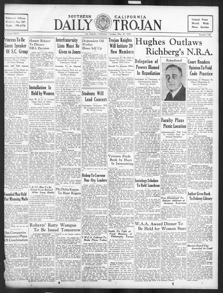 Daily Trojan, Vol. 26, No. 146, May 28, 1935