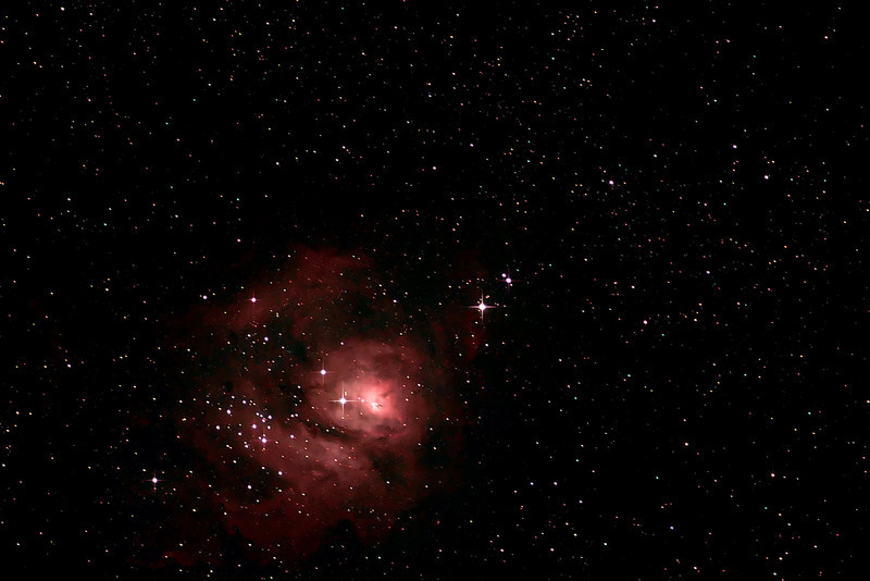 The Lagoon Nebula  by Paul.F.Campbell for Laurel  Campbell.jpg