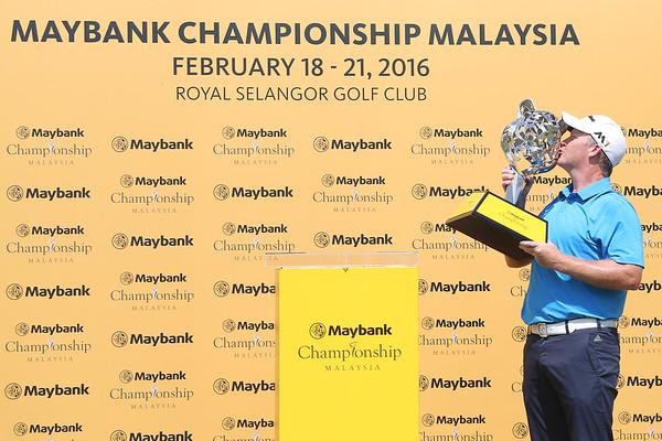 MAYBANK CHAMPIONSHIP 2016 GALLERY