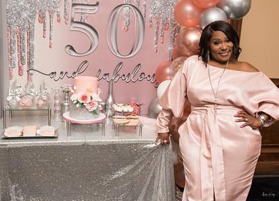Roshunda's 50 & Fabulous Birthday Dinner