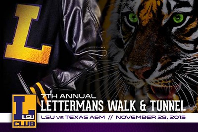 L Club Lettermans Walk & Tunnel 11/28/15