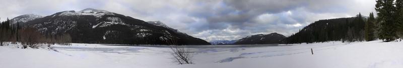 Katchess lake panorama
