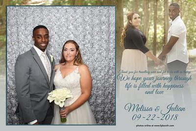 Melissa and Julian 2018