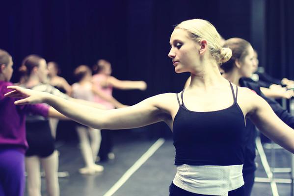 Ballet Warm Up 2012