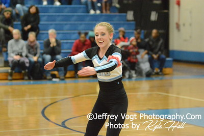 1-10-2015 Walt Whitman HS Varsity Poms at Blake HS Invitational, MCPS Championship, Photos by Jeffrey Vogt Photography with Kyle Hall