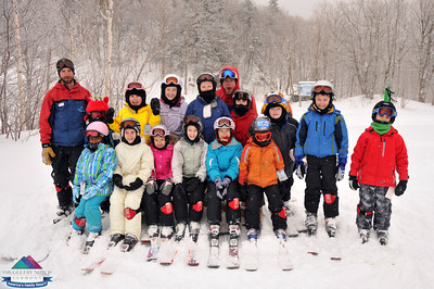 Wk. of Feb.26th - GROUP PHOTOS-ski school