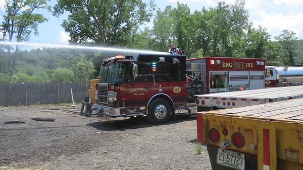 6-20-20 Brush Fire, Roa Hook Road