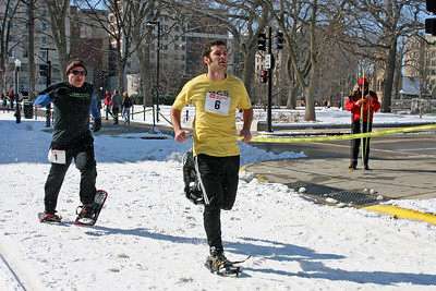 2009 Winter Festival - Snowshoe Relay