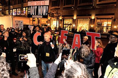 Feb 05 Rally against Trump's Acquittal: San Francisco