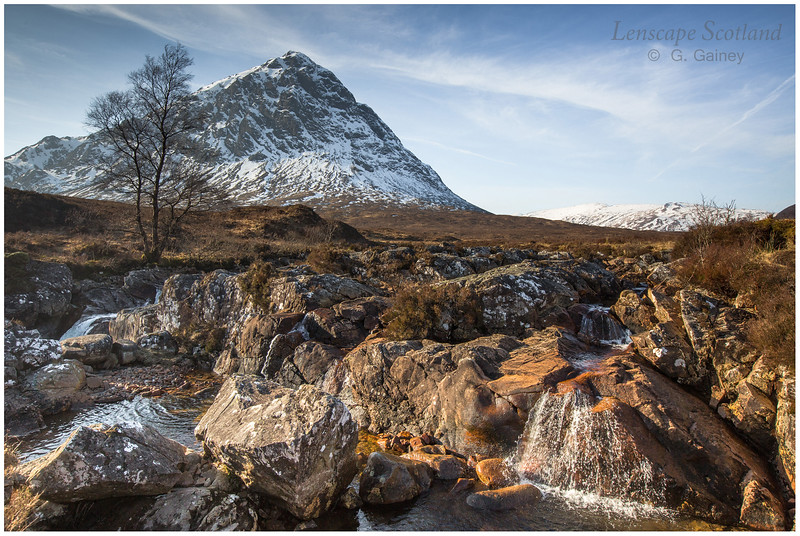 Stob Dearg (Buachaille Etive Mor) from the River Coupall (1)