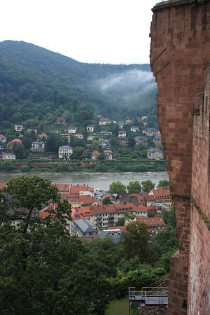 Heidelberg Castle - 3 Aug 10