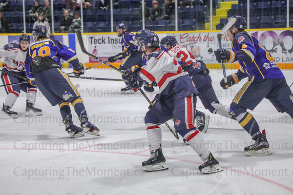 Miners Vs French River Rapids Oct 06, 2018.