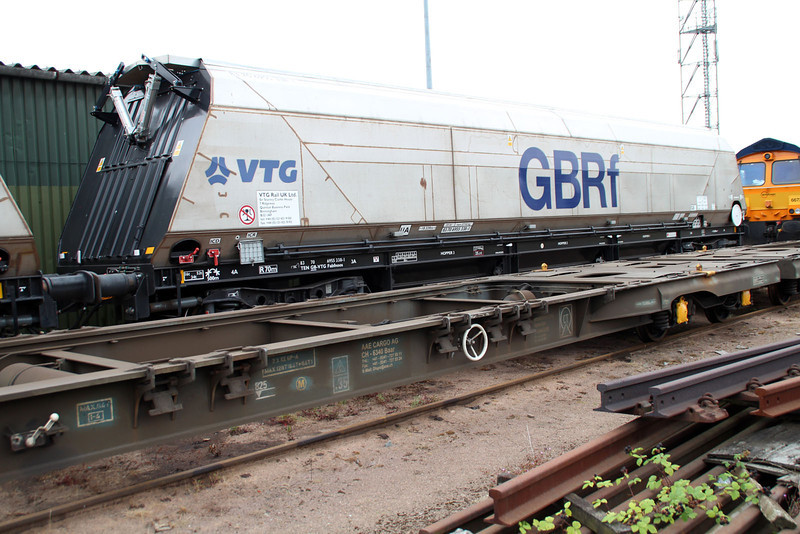 IIA 83706955338-1 Biomass Hopper unusually at Peterborough GBRF 10/08/13.