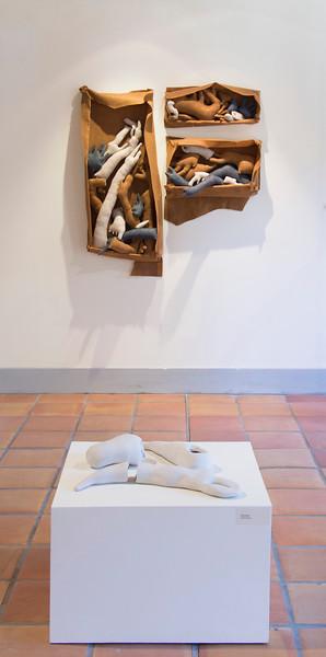 Cassie Derickson, BA installation view